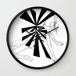 In the Nips by riendo Wall Clock