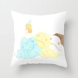 gelato Throw Pillow