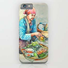 The javanese salad or pecel iPhone Case