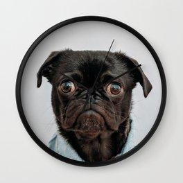 Pug Got Style Wall Clock