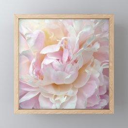 Pink Petal Flower Power Framed Mini Art Print