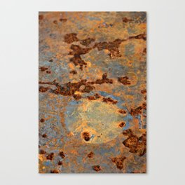 Rusted Reefs Canvas Print