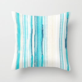 Toes In the Sand Collection Throw Pillow