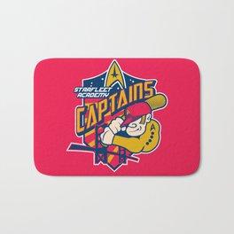 Starfleet Academy Captains Baseball Bath Mat