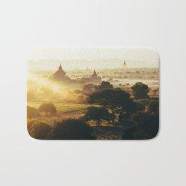Bagan Pagodas Bath Mat