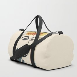 Abstract Face III Duffle Bag