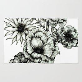 Floral Ink III Rug