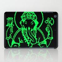 hindu iPad Cases featuring Hindu god by Littlefox