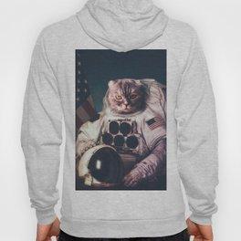 Beautiful cat astronaut Hoody