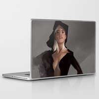 study Laptop & iPad Skins featuring Figure Study by Kelly Perry