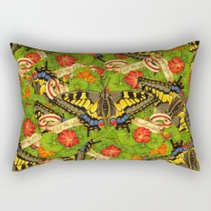 Old World Swallowtail Cacophony Rectangular Pillow