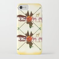 africa iPhone & iPod Cases featuring Africa by famenxt