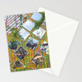 Wall of Mirrors Stationery Cards