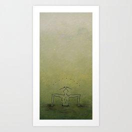 Midnight Holes Art Print