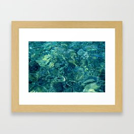 Mar de las calmas Framed Art Print