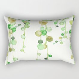 Behind the Vines Rectangular Pillow