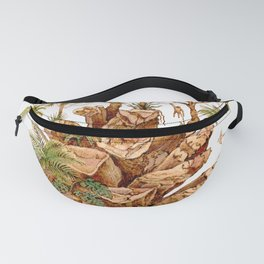 The Pinecone and the Rainforest Fanny Pack