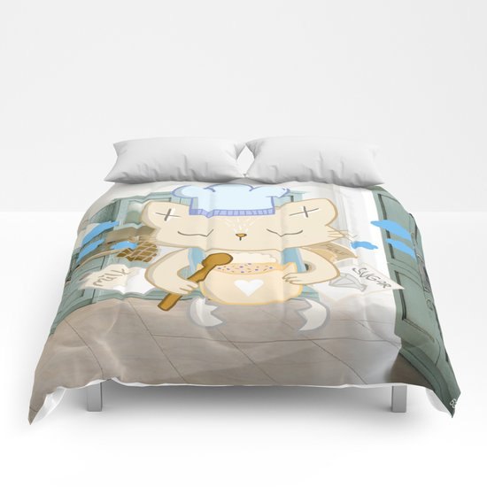 This time my Cake will turn out AWESOME Comforters