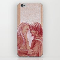 aragorn iPhone & iPod Skins featuring Respite by silvertales