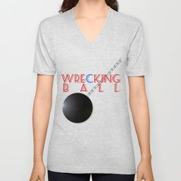 Wrecking Ball - Miley Cyrus Unisex V-Neck