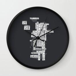 Kalimdor Wall Clock