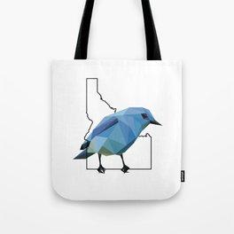 Idaho – Mountain Bluebird Tote Bag