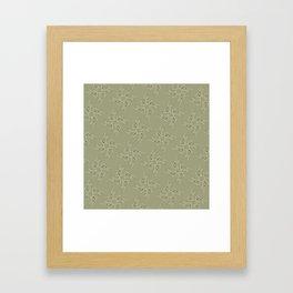 Catty Corners Framed Art Print
