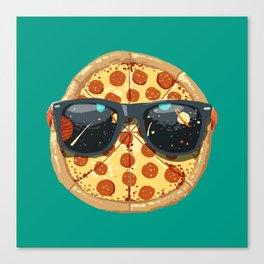 Cool Pizza Canvas Print