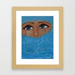 Overflow Framed Art Print