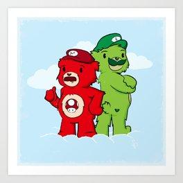 Care Bros Art Print