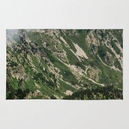Cloud over a Pyrénées Mountain Rug