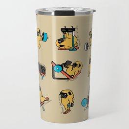Pug Leg Day Travel Mug