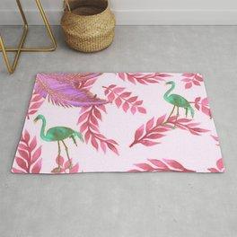 Flamingo rose Rug