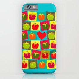 Apple and Heart iPhone Case