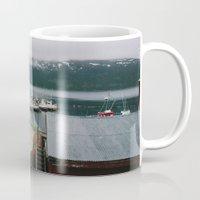 boats Mugs featuring Boats by A. Serdyuk