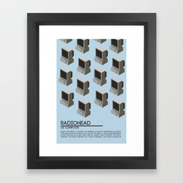 OK Computer Framed Art Print