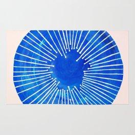 Blue Circle Rug