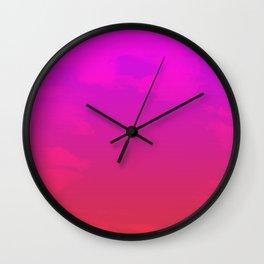 winter glare Wall Clock