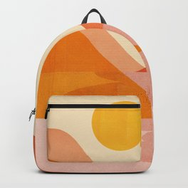 Abstraction_Lake_Sunset Backpack