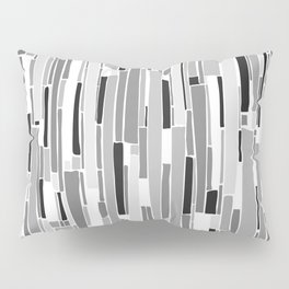 Stacked BW Pillow Sham