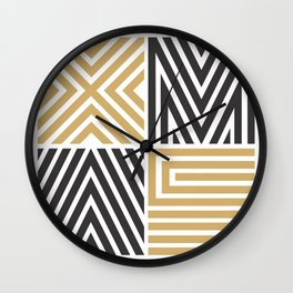 Xmas Typo #society6 #decor #buyart Wall Clock