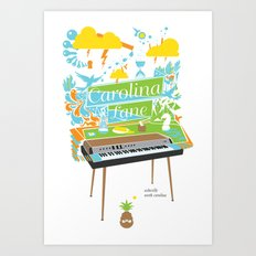 Carolina Lane. Art Print