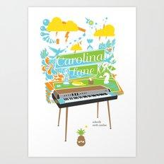 Carolina Lane. Art Print