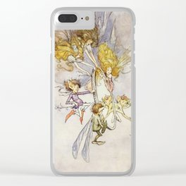 """The Magic Mirror"" by Duncan Carse Clear iPhone Case"