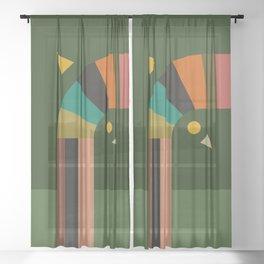 turning Sheer Curtain
