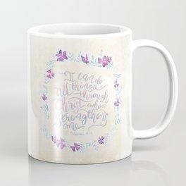 I Can Do All Things - Philippians 4:13 Coffee Mug