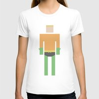 aquaman T-shirts featuring Retro Aquaman by JChevere