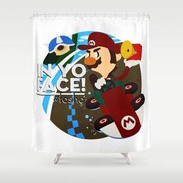 In Yo Face! Shower Curtain