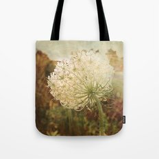 Queen Anne's Lace Sunset Tote Bag