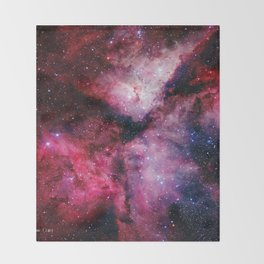 Carina Nebula Throw Blanket